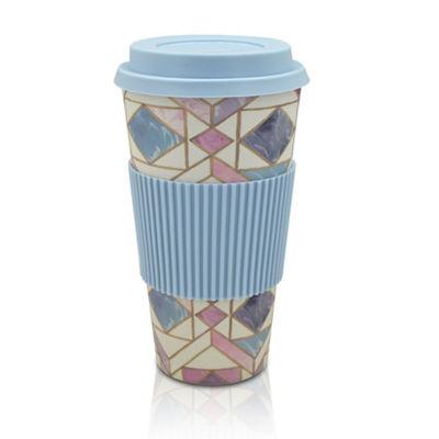 Asda George Rose Gold Bamboo Marble Tall Travel Mug - tribal design 85p @ Asda Retford.