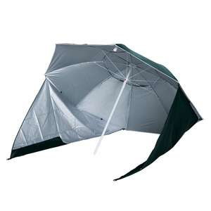 Outsunny All-Weather Beach Umbrella Shelteneer-Green for £24.29 delivered using code (mainland UK) @ Aosom