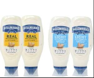 Hellmann's Squeezy Real / Light Mayonnaise 2 x 750ml £2.99 (No VAT) @ Costco warehouse only.