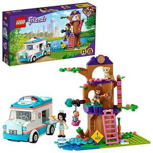 LEGO Friends 41445 Vet Clinic Ambulance Toy Car £20 delivered at Amazon