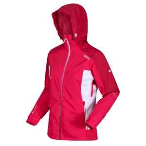 Women's Oklahoma VI Waterproof Hooded Walking Jacket Duchess Dark Cerise for £53.95 with code + £3.95 delivery at Regatta