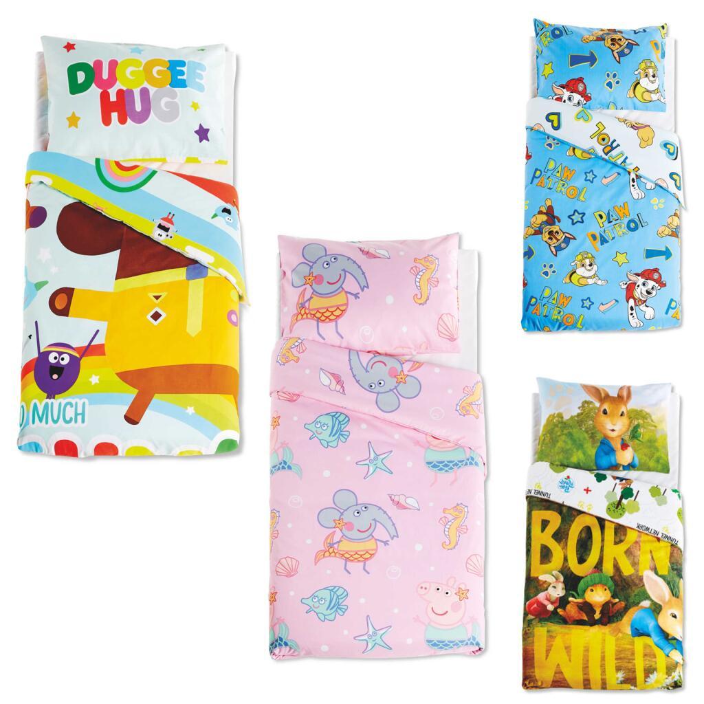 Toddler Duvet Sets - Hey Duggee / Peter Rabbit / Peppa Pig / Paw Patrol - £8.99 In store / £11.94 Delivered (Delivery UK Mainland) @ Aldi