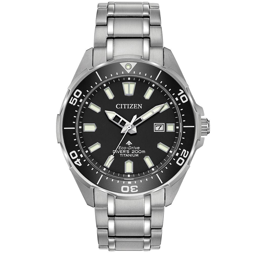 Citizen Citizen Men's Eco-Drive Promaster Titanium Diver Bracelet Watch 200M - £170 with code @ H Samuel