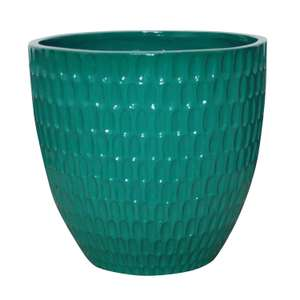 Hammond Planter in Jade Green / Red or Navy - £7.00 (Free C&C only - Limited Store availability) @ Homebase