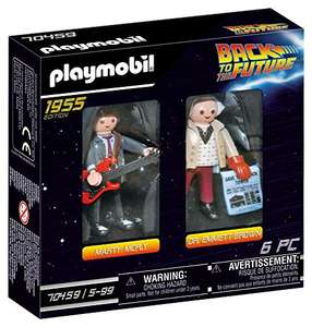 PLAYMOBIL 70459 Back to the Future Marty McFly and Dr. Emmett Brown - £5.25 Prime/+£4.49 Non Prime @ Amazon