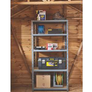 2 for £50 (£25 each) - Heavy Duty Boltless Shelving 900 x 450 x 1800mm delivered @ Screwfix