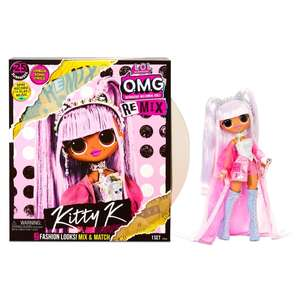 L.O.L Surprise remix Kitty K Doll £24.99 at Home Bargains Hounslow