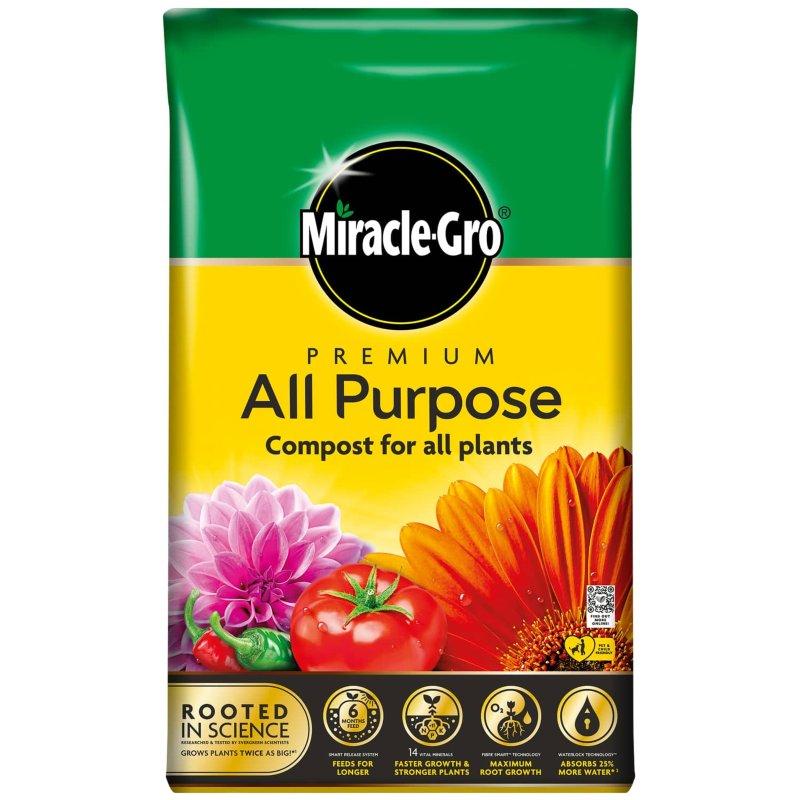 2 X 50Litres Miracle-Gro Premium All Purpose Compost ( bought Swinton ) £9 @ B&M
