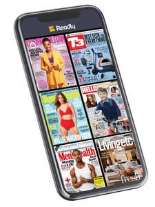 6 Weeks Free Readly - Unlimited Magazines + £10 Amazon voucher (If you stay 1 month after trial) £7.99 @ Readly