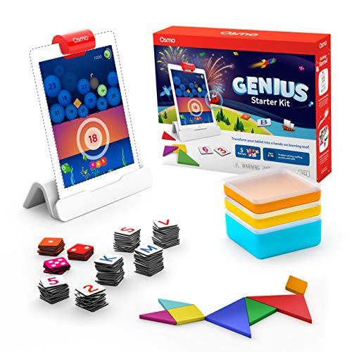 Stem - Osmo - Genius Starter Kit for iPad - 5 Games (Ages 6-10) £51.10 prime (+£4.49 non-prime p&p) @ Amazon