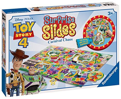 Ravensburger Disney Toy Story 4 Surprise Slides Board Game - £5.67 (Prime) + £4.49 (non Prime) at Amazon