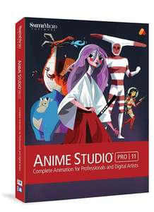 Anime Studio Pro 11 [Download] for MAC £2.72 Dispatched from and sold by Amazon Media EU S.à r.l @ Amazon