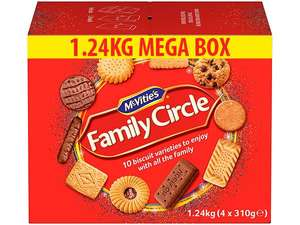 1.24kg Family Circle £1.99 | Tunnock's Wafers 99p | Kinder Bueno 15 for £5 |Skittles Chewies/Smoothies 49p |Comfort 85wash £1.99 @ Farmfoods