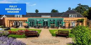 Walton Hall Hotel for 2 & Bottle of Wine / Full English Breakfast / Late Checkout (Near Warwick Castle) Fully Refundable £65 @ TravelZoo