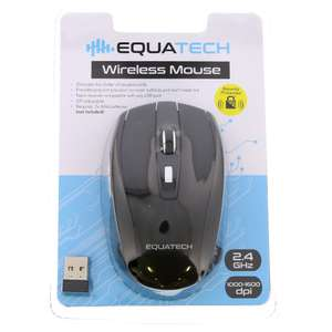 Equatech Wireless Mouse £3.99 at Home Bargains (Newark)