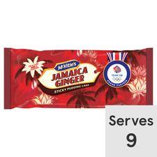 Mcvities Jamaica Ginger Cake/Golden Syrup Cake - 67p Clubcard Price @ Tesco