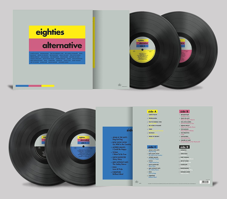 Eighties Alternative [Vinyl] Double LP 180G £11.99 (+ £2.99 Non Prime) @ Amazon