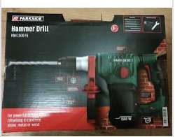 Parkside SDS drill - £20 Instore @ Lidl (Swalwell, Newcastle)
