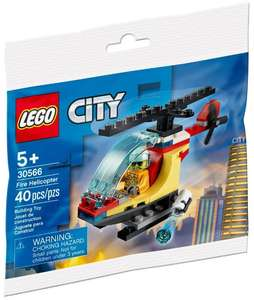 Free Lego City Helicopter with £20 spend with Blue Light Card Discount @ Lego Shop
