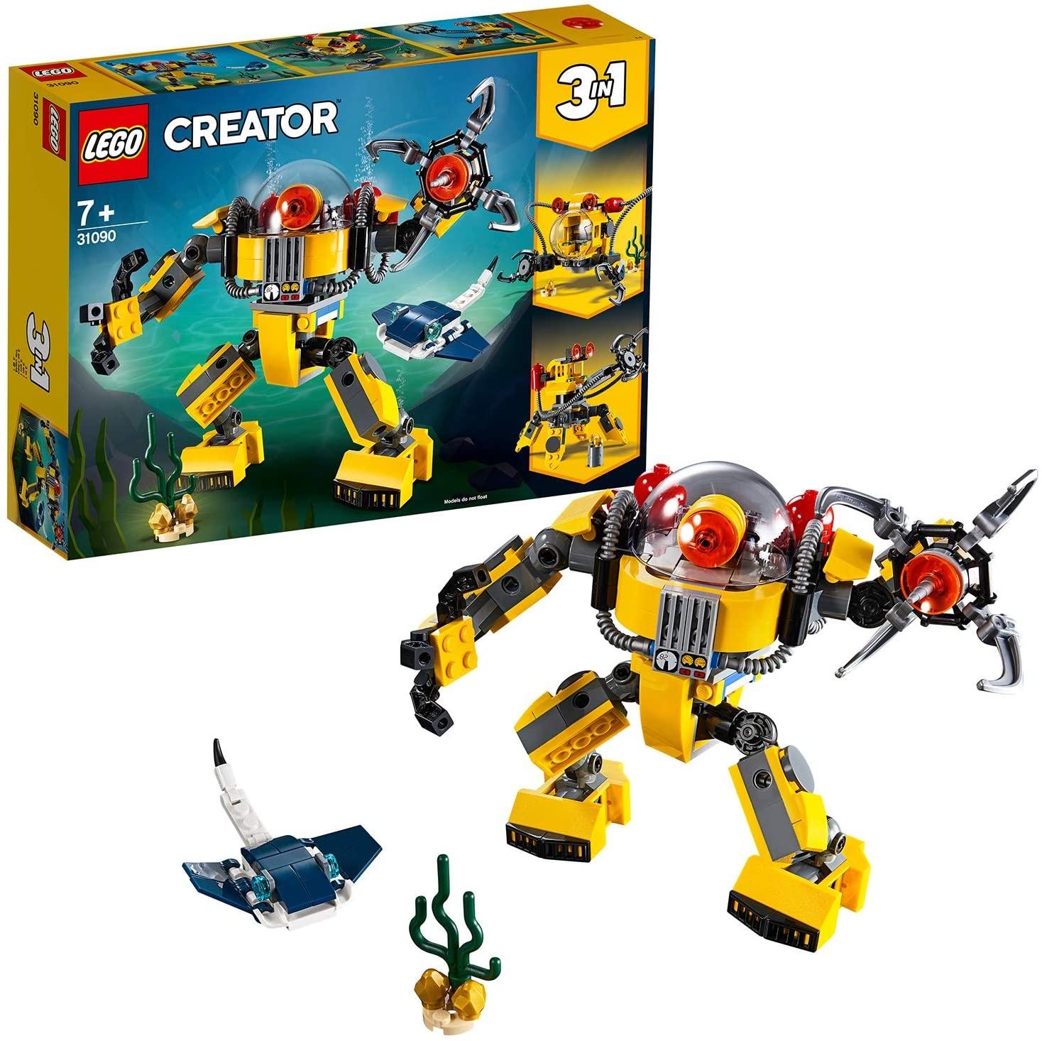 LEGO 31090 Underwater Robot - £7.20 @ Sainsbury's (High Wycombe)