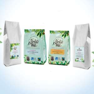 40% off 200g bags of Bird & Wild coffee for £2.99 with code (+£2.99 delivery) @ Bird & Wild