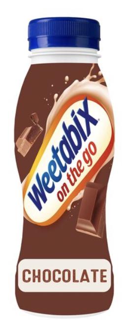 Weetabix On The Go Chocolate Drink 250Ml - 75p instore @ Tesco (London)