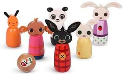 Bing 1067 Wooden Character Skittles £10 + £4.49 Non Prime @ Amazon