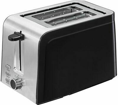 LOGIK L02TSS17 2-Slice Toaster - Black & Stainless Steel - Currys - £9.99 UK Mainland @ ebay / Currys
