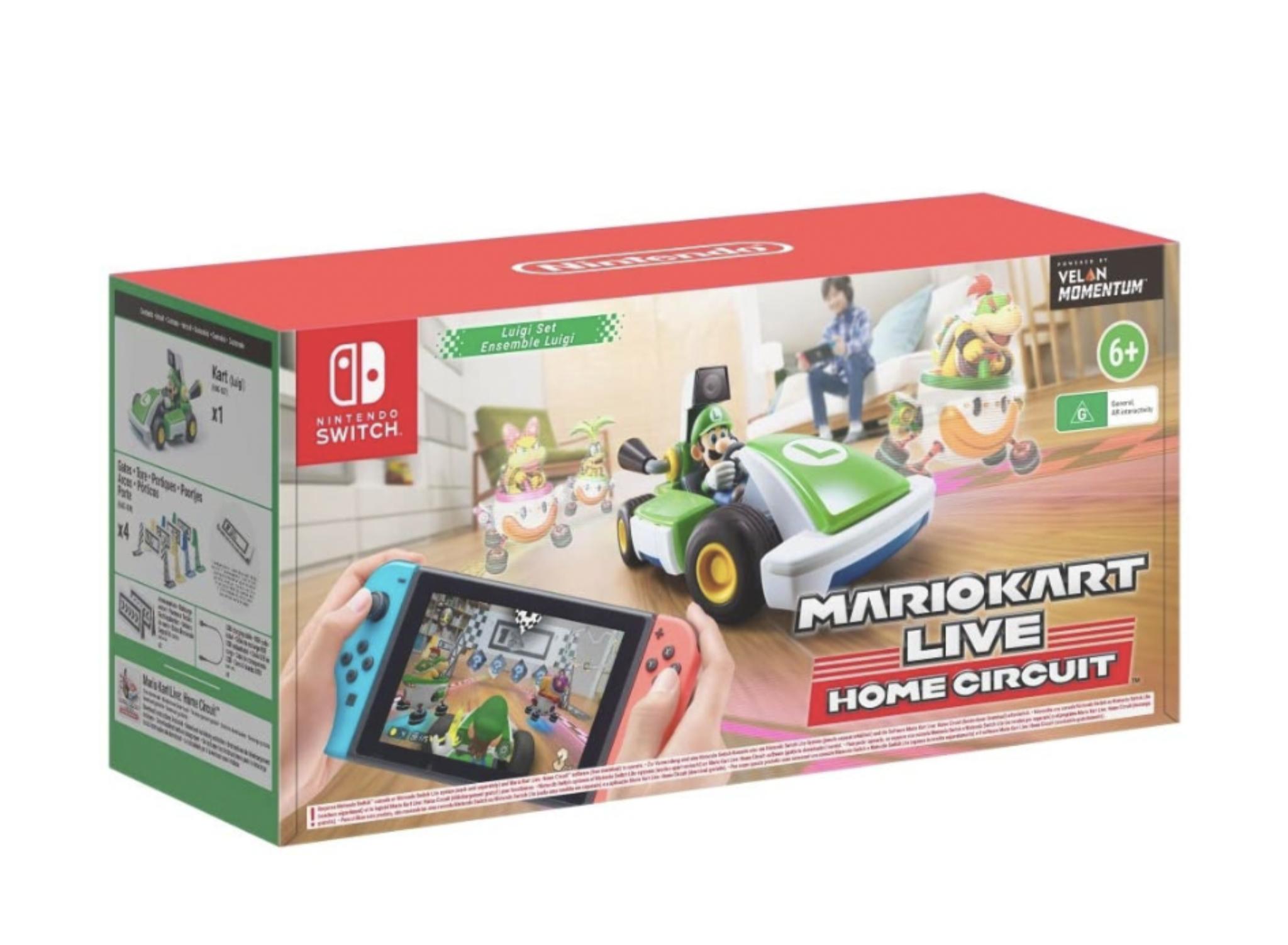 Mario Kart Live: Home Circuit - Luigi (Nintendo Switch) Used Like New £65.06 @ Amazon Warehouse
