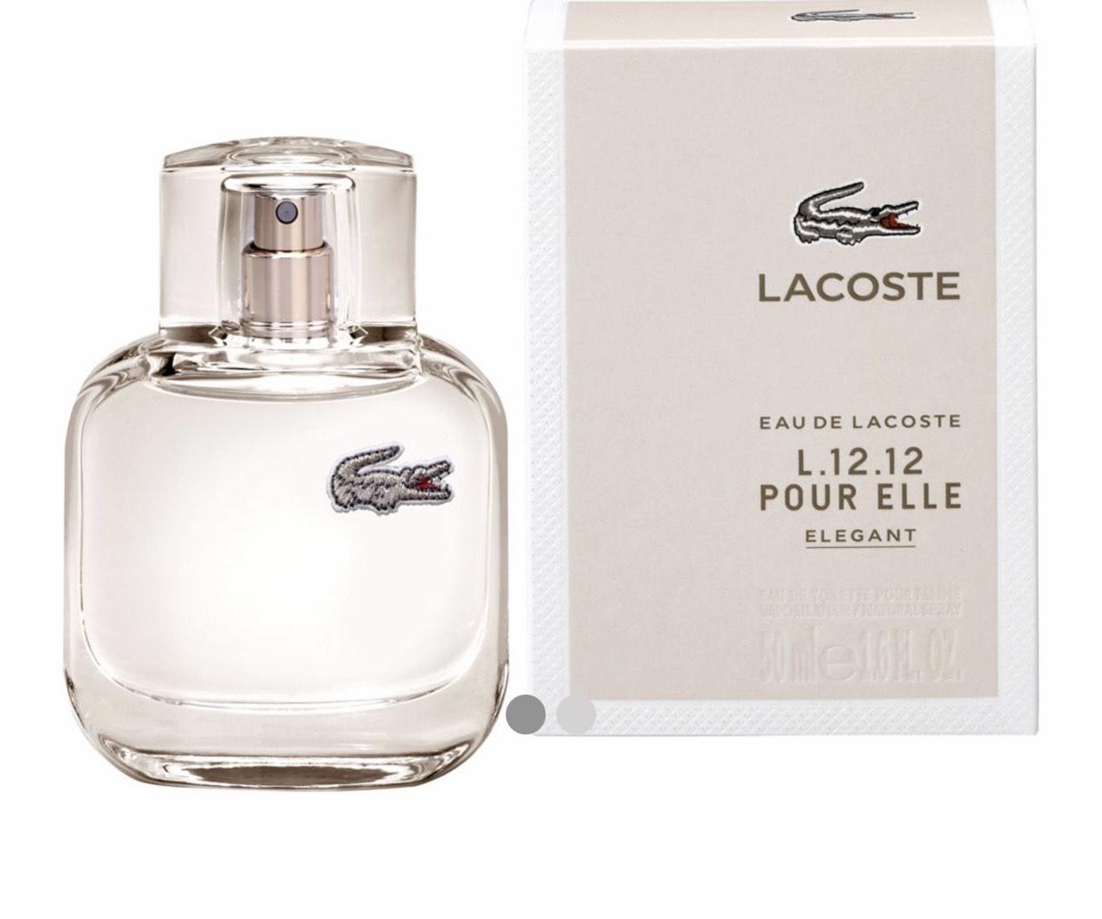 Lacoste L.12.12 Pour Elle Elegant Eau de Toilette 50ml £10 at Boots + £1.50 click and collect