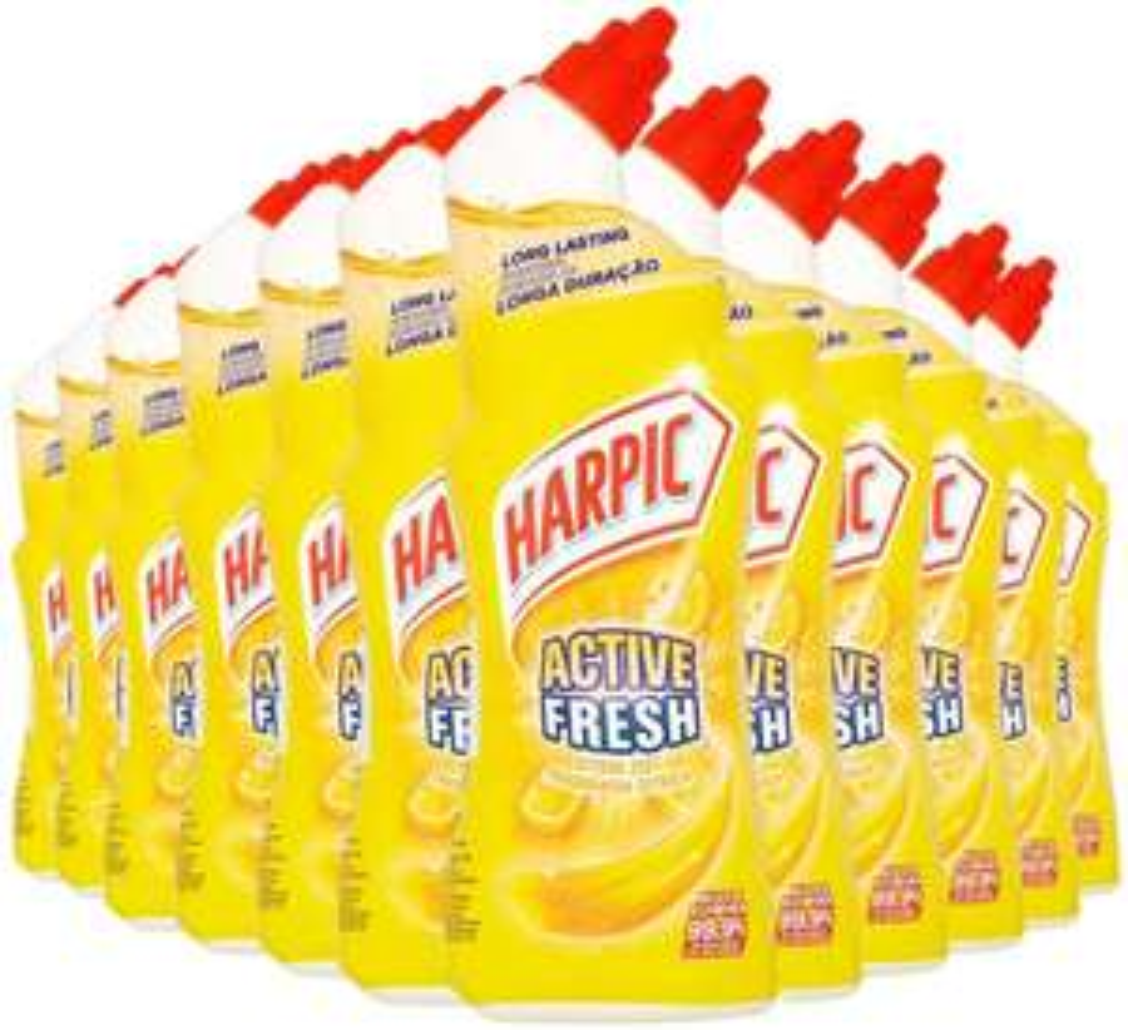 Harpic Active Fresh Toilet Cleaning Gel 750ml - Citrus Zest, Pack of 12 £11.34 (£4.49 p&p np) 15% voucher and 10% s&s £8.51 @ Amazon