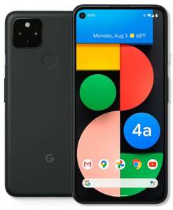"""GOOGLE Pixel 4a 5G 128GB 6.2"""" Full HD SIM-free Smartphone Just Black Smartphone - £379.05 With Code @ Currys On Ebay"""