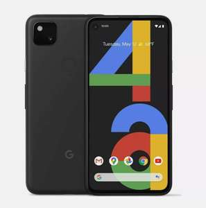 """GOOGLE Pixel 4a 128GB 5.8"""" SIM-free Smartphone Android 10 Just Black Smartphone - £284.05 With Code @ Currys On Ebay"""