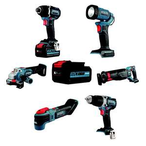 15% off cordless 18v Erbauer EXT power tools at Trade point (B&Q) - from £60 - Click + Collect / free delivery