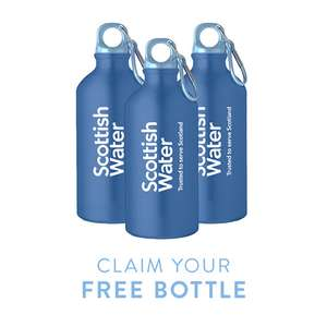 Free Water Bottle from Scottish Water (Scottish Postcodes only)
