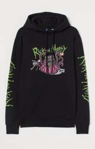 Rick and Morty Hoodie Size XS only Free delivery - £7 @ H&M
