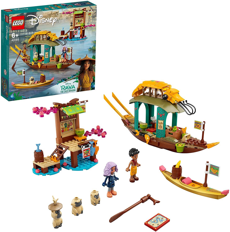 LEGO Disney Princess 43185 Boun's Boat Toy with 2 Minidolls from Disney's Raya and the Last Dragon Movie - £32.40 @ Amazon