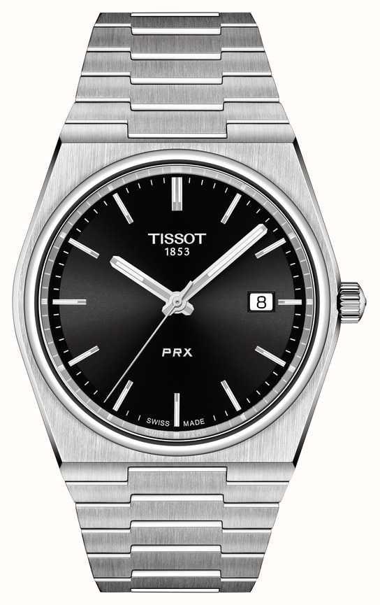 Tissot T-Classic PRX Men's Black Dial Sapphire Bracelet Watch £252.22 (with code) @ DC Leake Jewellers