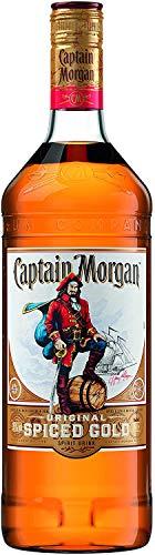 Captain Morgan Spiced Rum, 1 Litre £15.98 (+£4.49 Non Prime) @ Amazon