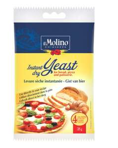 Il Molino Instant Dry Yeast 4 X 7G 12p (Minimum Basket / Delivery Fee Applies) @ Tesco