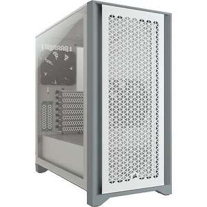White Corsair 4000D Airflow Tempered Glass Mid Tower Gaming PC Case £73.55 at CCL Online/eBay