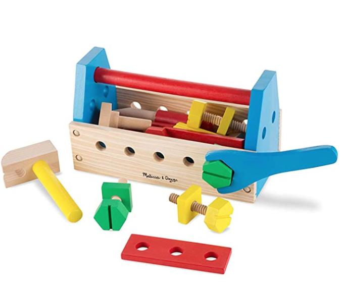 Melissa & Doug Take-Along Tool Kit | Pretend Play | Play Set £8.99 prime / £13.48 non prime @ Amazon
