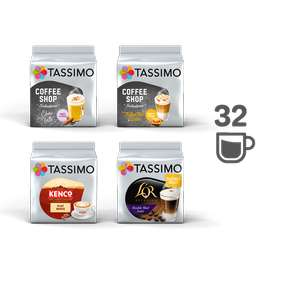 Tassimo Coffee Pods BARISTA BUNDLE - 4 PACKS £13 + £2.99 delivery at Tassimo Shop