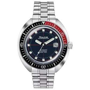 Bulova Devil Diver Oceangrapher automatic watch £199.20 with code at H Samuel