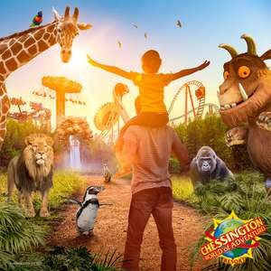 Chessington Short Break - On-site Hotel Stay + Park tickets + Early ride time + more from £177 (Family of 4) / on-site Glamping from £167