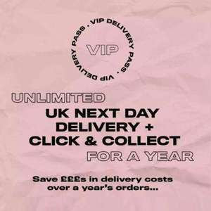 1 Year Unlimited UK Next Day Delivery now £5.99 @ Missguided