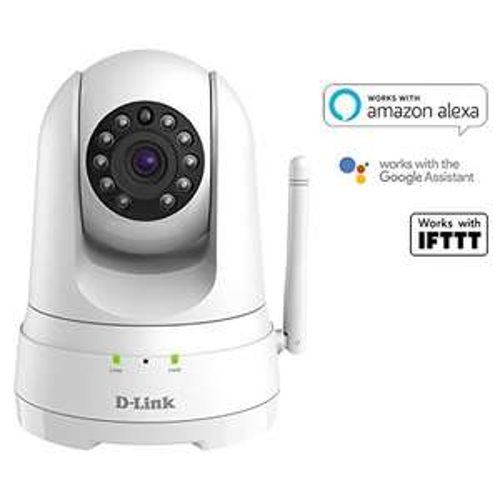 D-Link DCS-8525LH Indoor Camera, 1080p, Sound/Motion Detection, NightVision, Cloud/SD Recording, 2-Way Audio, Alexa/Google - £69.41 @ Amazon