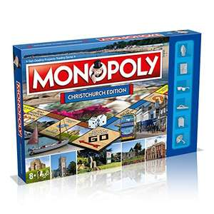 Monopoly Christchurch Edition Board Game - £7.49 Prime / £11.98 Non Prime at Amazon