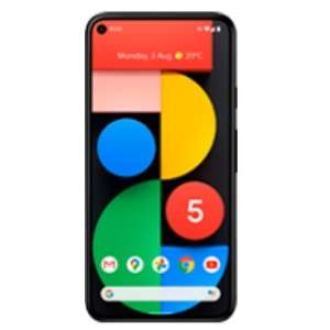 Google Pixel 5 + Vodafone 5G 50GB contract - £115 upfront with code - £21pm / 24 months - £619 total @ Mobiles.co.uk