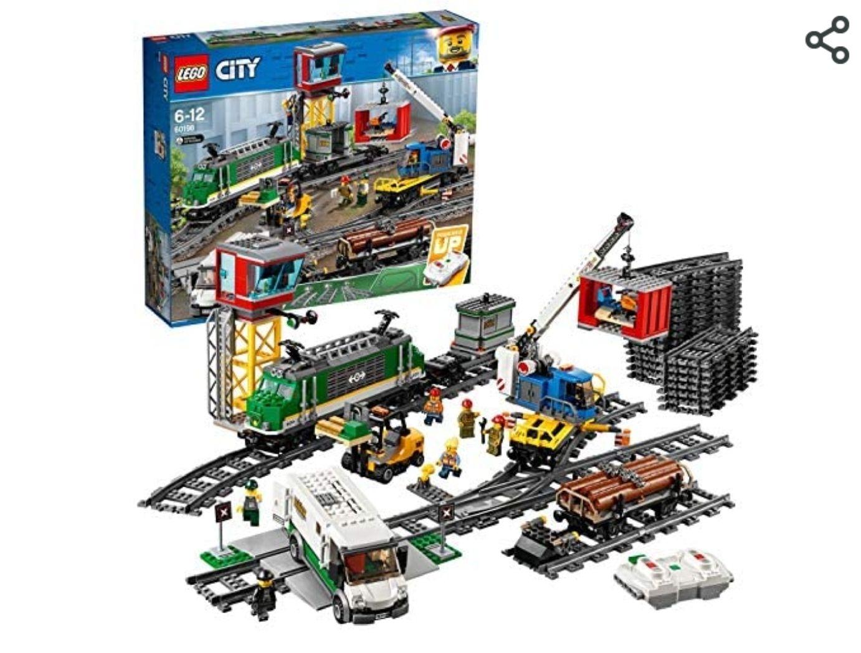 LEGO City 60198 Cargo train set - £113.99 @ Amazon